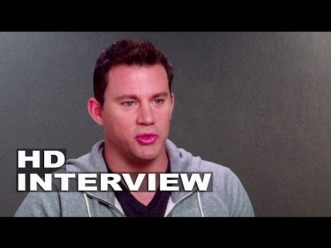 """22 Jump Street: Channing Tatum """"Jenko"""" On Set Movie Interview"""