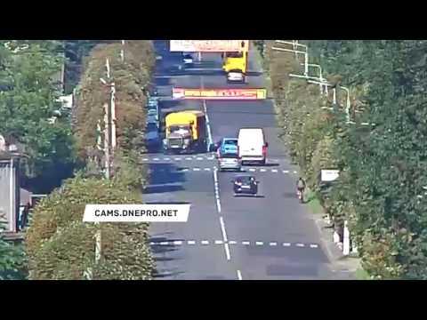 Авария с пешеходами в Каменском