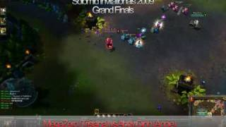 Solomid.net Invitationals Grand Finals (Round 1):  Andy Dinh (Annie) VS  MegaZero (Tristana)