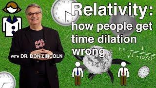 Video Relativity: how people get time dilation wrong MP3, 3GP, MP4, WEBM, AVI, FLV Maret 2019