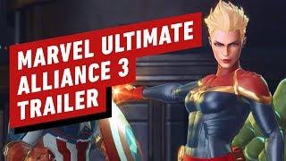 Marvel Ultimate Alliance 3: The Black Order Captain Marvel Trailer - Nintendo Direct