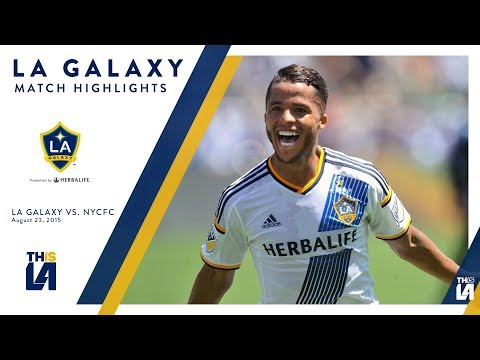 Video: How do you like 'dem apples? LA Galaxy rock NYCFC 5-1 in 2015