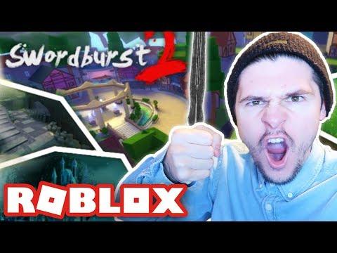 DEFEATING THE 2nd FLOOR BOSS!! - Swordburst 2 (Roblox)
