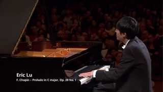 Eric Lu – Prelude in C major Op. 28 No. 1 (third stage)