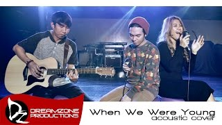 Video When We Were Young (Adele Cover_Acoustic) - Sam Mangubat feat. Billy Padillo MP3, 3GP, MP4, WEBM, AVI, FLV Juni 2018
