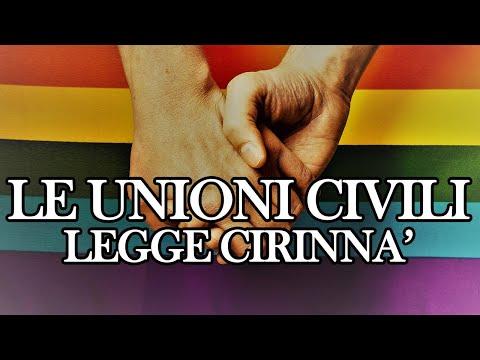 Random: Notizie dall'Italia e dal Mondo. L'Italia e le unioni civili.