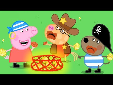 Peppa Pig Full Episodes  Halloween Special  - Pirate Party  Cartoons for Children