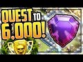 The QUEST to 7000 TROPHIES in Clash of Clans - Town Hall 12!