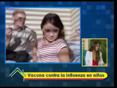 Dr. en Casa: Vacuna contra la influenza en niños