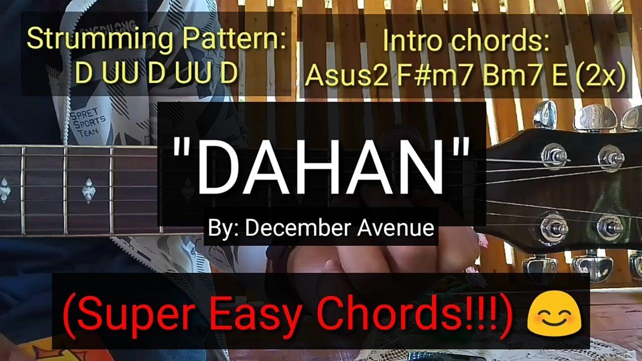 Dahan – December Avenue (Guitar Tutorial)