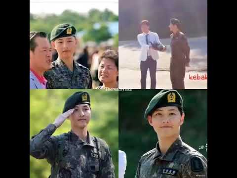When Song JoongKi officially discharged from his Military Service.Time flies so fast, 3 Yrs ago