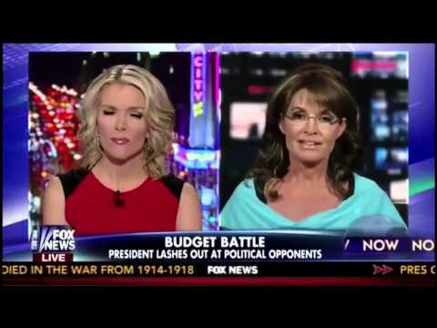 Palin - Megyn Kelly can't control Sarah Palin on Fox --On the Bonus Show: Tea-publicans and social media, Is Ray Kurzweil a genius or insane?, David involves himse...