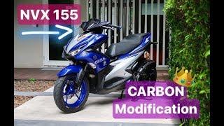 Yamaha Aerox 155 vs NVX 155 Movistar Logo Modification UPDATE