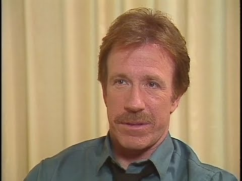 "Chuck Norris - Interview For ""Hero And The Terror"" - 1988"