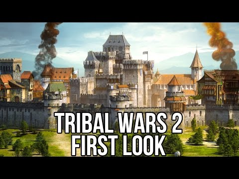 Tribal Wars 2 (Free MMORTS): Watcha Playin'? Gameplay First Look