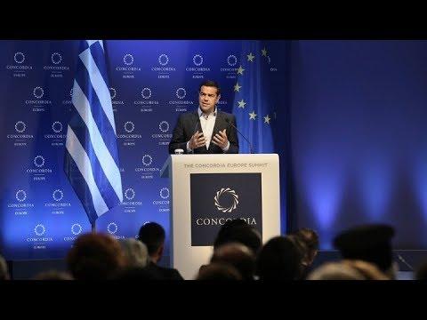 Αλ. Τσίπρας: Η Ελλάδα στέκεται στα πόδια της μετά από χρόνια λιτότητας και ύφεσης