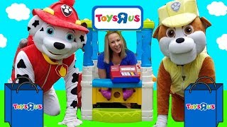 Video PAW PATROL Rubble Pup Goes to Toys R US !!! ~ HUGE Skye REAL Marshall ~ MP3, 3GP, MP4, WEBM, AVI, FLV Agustus 2018