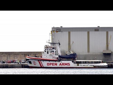 Στη Μαγιόρκα το πλοίο της ομάδας Open Arms