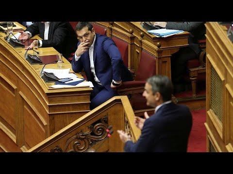 Σύγκρουση μεγατόνων στη Βουλή