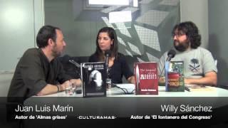Juan Luis Marín ('Almas grises') y Willy Sánchez ('El fontanero del Congreso'). 14-6-2013