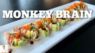 MONKEY BRAIN SUSHI | Fan Suggestion by Diaries of a Master Sushi Chef