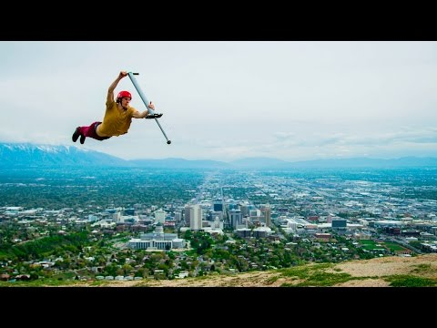 Epic Pogo Stick Tricks Will Get You Bouncing