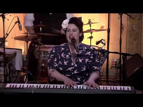 "Davina and the Vagabonds - ""Black Cloud"" - 6.23.16 at Daryl's House Club"