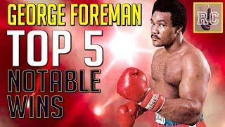 Video George Foreman - Top 5 Notable Wins MP3, 3GP, MP4, WEBM, AVI, FLV Desember 2018