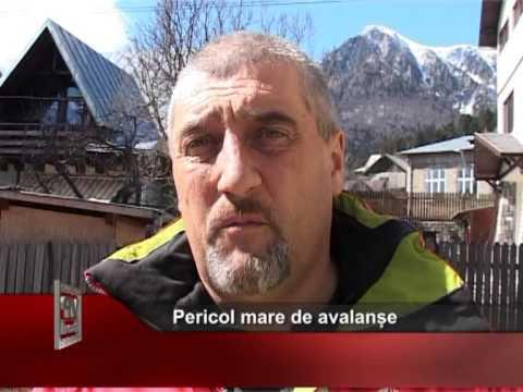 Pericol mare de avalanșe