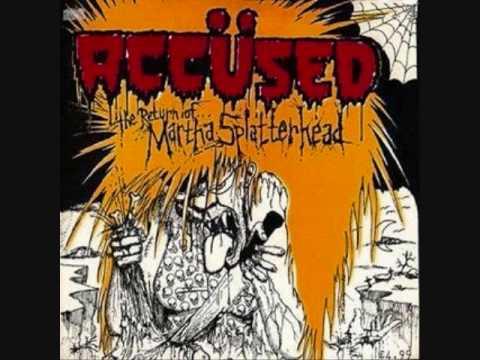 the Accused - martha splatterhead online metal music video by THE ACCÜSED