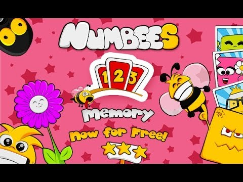 Video of 123 Kids Memory Game - Numbees
