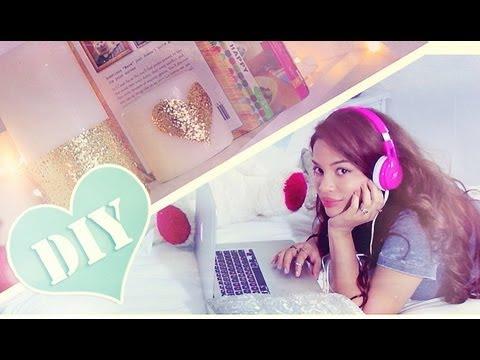 Diy cute simple bedroom decor accents ronnie l kenny 39 s for Cute easy diy bedroom ideas
