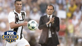 Juventus Manager Max Allegri on Ronaldo: 'He's shown extraordinary things to me.' | FOX SOCCER by FOX Soccer