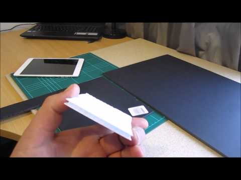 DJI Phantom 3 / Inspire tutorial: Make your own sun-shade for any iPad or Android tablet