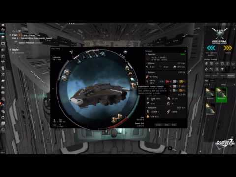 Eve Online: Gallente Level 4 FW Mission Dead Men Tell No Tales Solo In A Stealth Bomber