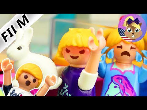 A Playmobil Story PHILLIP'S MEAN STEPSISTER STEALS HANNA'S PET! Smith Family