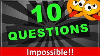 These are 10 awesome trick questions your friends will always get wrong! Guaranteed! :) I have picked these 10 funny brain teasers because I am sure that ...
