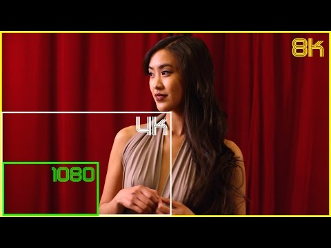 8K - The Future of Video Resolution