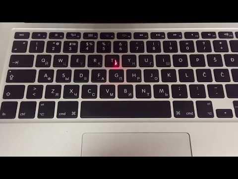 Лазерная гравировка клавиатуры с подсветкой