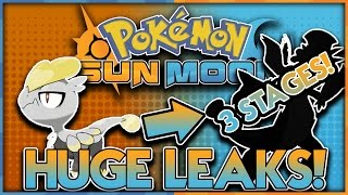 HUGE LEAKS! TYPE AND STAGES REVEALED! POKÉMON SUN AND POKÉMON MOON LEAKS THEORIES and DISCUSSION! by aDrive