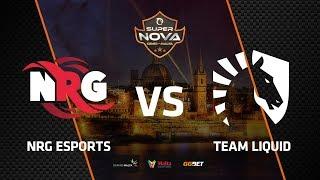 NRG vs Liquid, map 1 overpass, SuperNova CS:GO Malta
