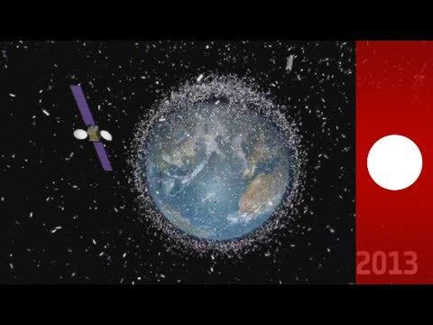 Pollution spatiale autour de la Terre