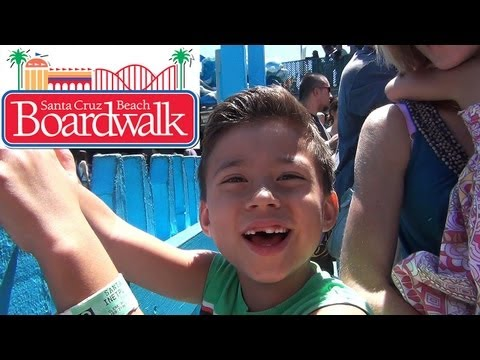 evantubehd's - For our last big excursion of the summer, we took a trip to Santa Cruz, CA to visit the Santa Cruz Beach Boardwalk. We had a good time riding the rides and p...