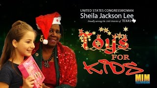 Sheila Jackson Lee 21st Annual Toys for Kids