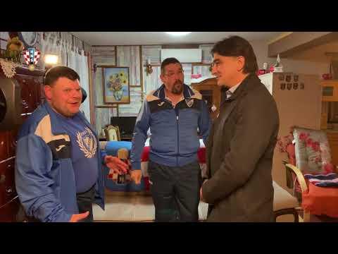 Izbornik Zlatko Dalić u posjetu braći Hančić