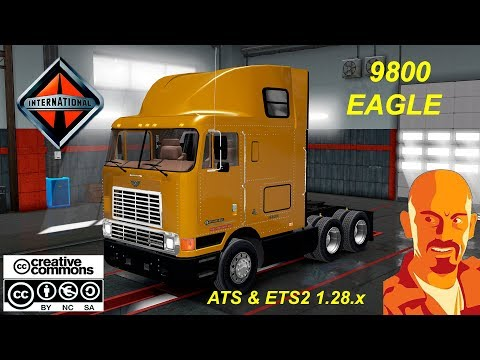 INTERNATIONAL 9800 EAGLE ETS2 1.27.x