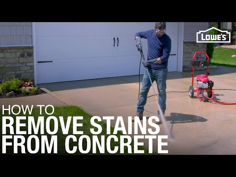 How to Remove Oil Stains from a Concrete Driveway