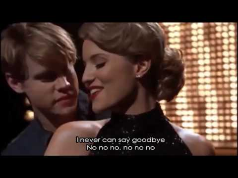 Glee - Never Can Say Goodbye (Full Performance with Lyrics)