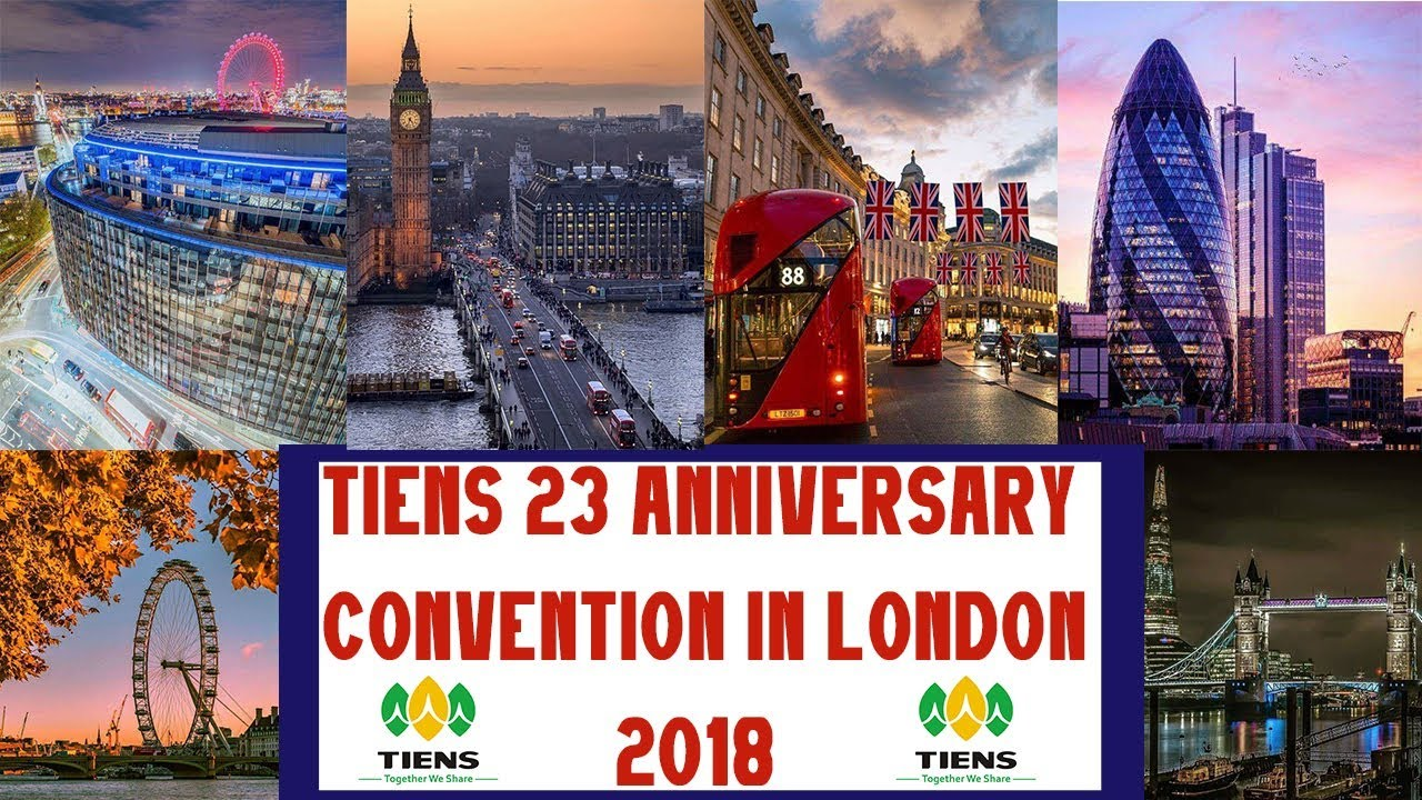 Tiens Next 23 Anniversary Convention LONDON 2018