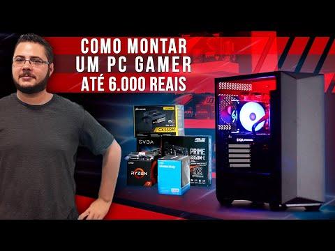 « COMO MONTAR um PC GAMER » Até 6 Mil Reais... Montagem